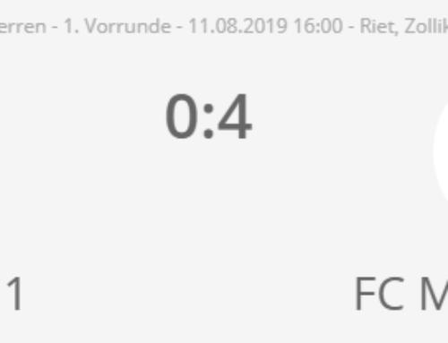Gähler und Di Bella schiessen den FCM in die 2. Cup Runde