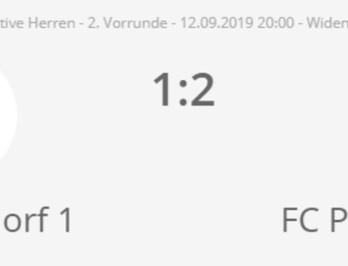 Last Minute Out für den FC Männedorf